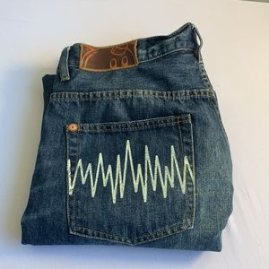 The Hundreds Slim Jeans Size 38 Printed Pockets